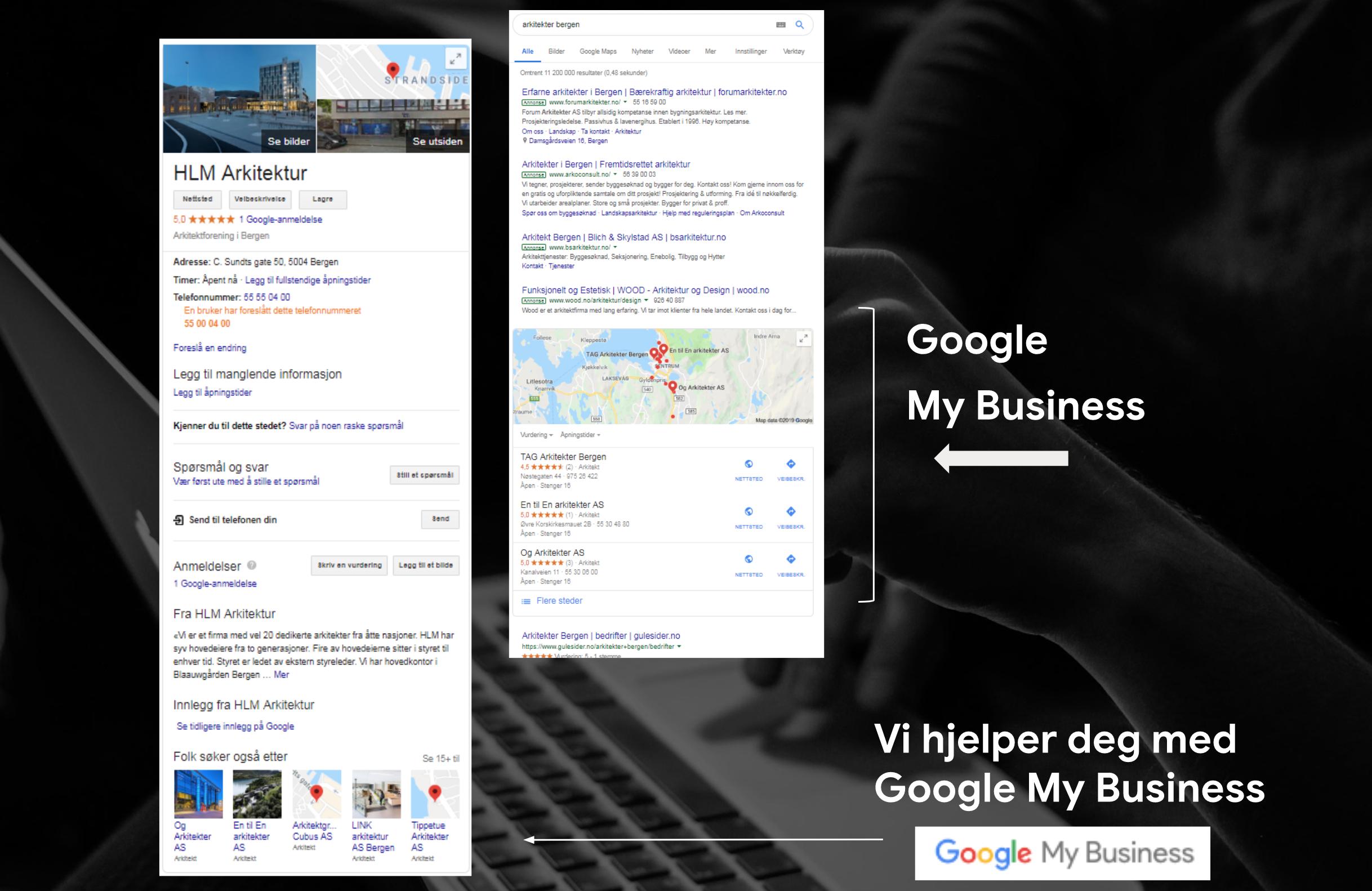 Google My Business og Google Local Pack