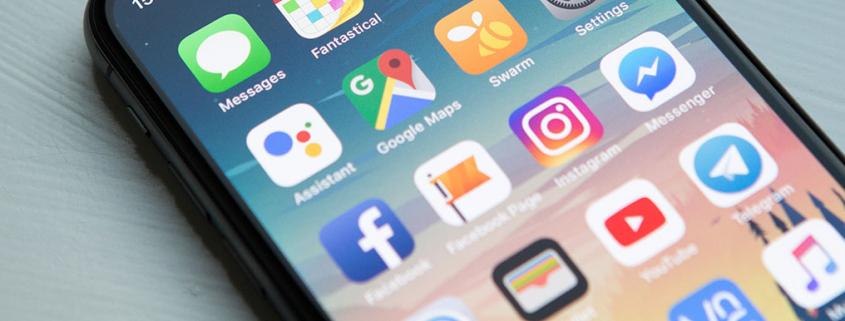 Facebook og Instagram apps